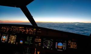 Aerotask: 30, 90, oder 150 Min. Flugerlebnis im Flugsimulator A320 bei Aerotask (bis zu 40% sparen*)