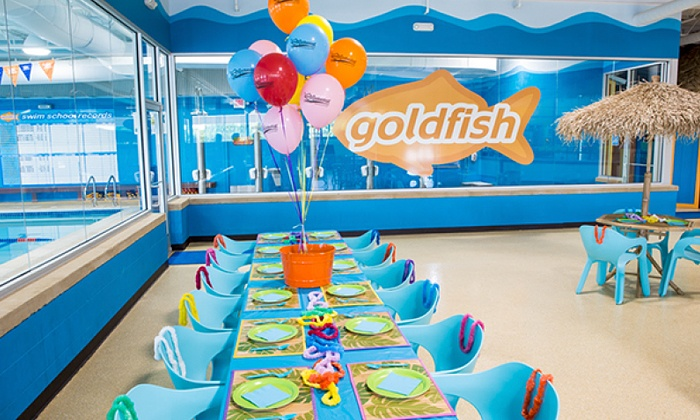Kids Pool Party Goldfish Swim School Groupon