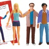 3-Pack of The Big Bang Theory Bendables