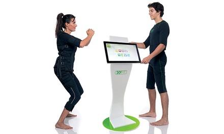 4 o 6 sesiones de electroestimulación deportiva con opción a estudio corporal y nutricional desde 49,90 € en 20 Fit