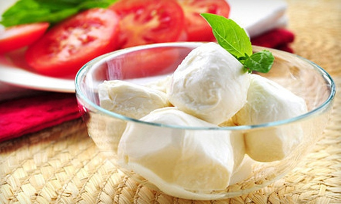 $30 for a Two-Hour Mozzarella-Making Class from Fromage to Yours ($60 Value). 20 Class Times Available.