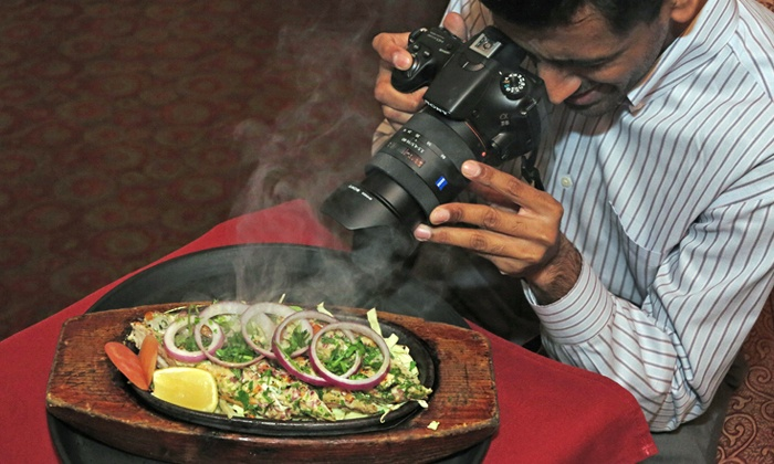 Dandyline Pictures - Multiple Locations: Food Photography Class for One or Two with a Three-Course Meal from Dandyline Pictures (Up to 52% Off)