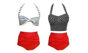 Junior Retro High-Waisted Swimsuits   at Junior Retro High-Waisted Swimsuits , plus 6.0% Cash Back from Ebates.