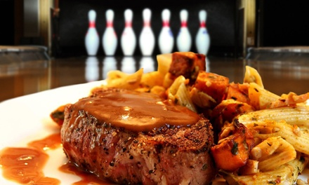 $11 for $20 Worth of American Fare, Drinks, and Bowling For Two at Shenanigans in Sherwood