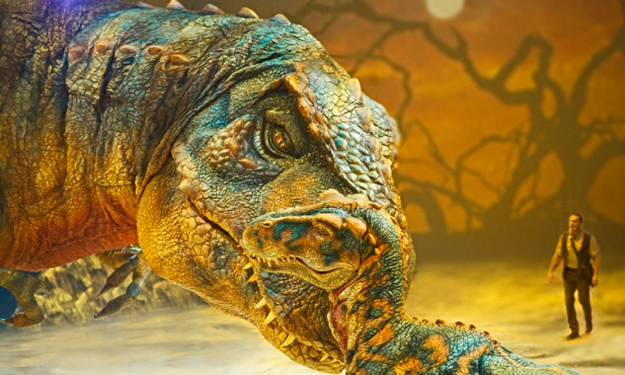 """Walking With Dinosaurs - BMO Harris Bradley Center: """"Walking With Dinosaurs"""" at BMO Harris Bradley Center on Wednesday, October 15 (Up to 39% Off)"""