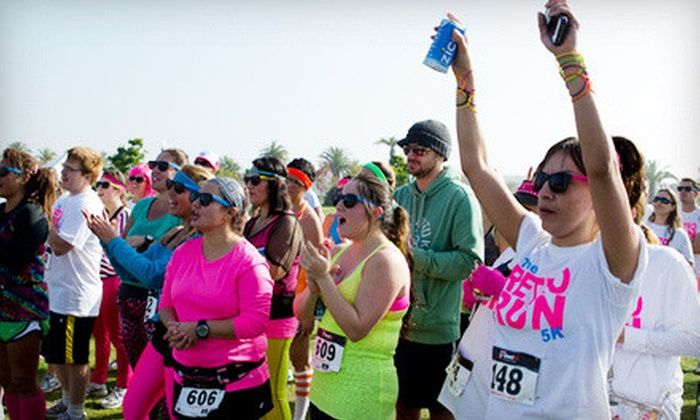 The Retro Run 5k - Airway Heights: Entry for One or Two to The Retro Run 5K at Spokane County Raceway on Saturday, May 18 (Up to 62% Off)