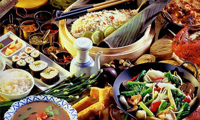 Seafood Buffet Sushi & Hibachi - Colonial Town Center: Seafood Dinner or Lunch Buffet for Two or Four at Seafood Buffet Sushi & Hibachi (Up to 56% Off)