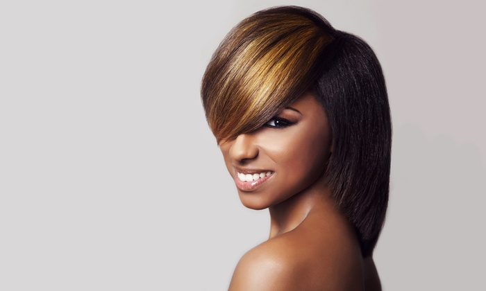 Shear Artistry the Salon - Richton Park: Blowout or Haircut and Conditioning Package at Shear Artistry the Salon (Up to 51% Off)