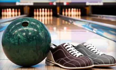 Bowling Outing for Four or Eight with Nachos and Soda at Lincolnway Bowling Center in York (Half Off)