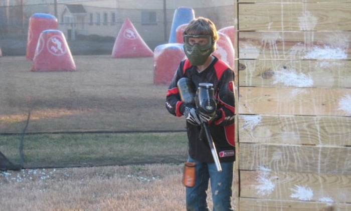 Insane Paintball - Amnicola - East Chattanooga: Paintball Package for Two or Twelve with Rental Pack and Paintballs at Insane Paintball (Up to 52% Off)