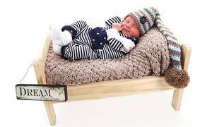 nicol's photography studio: Baby Photoshoot With Four Prints for £19 at Nicol's Photography Studio (86% Off)