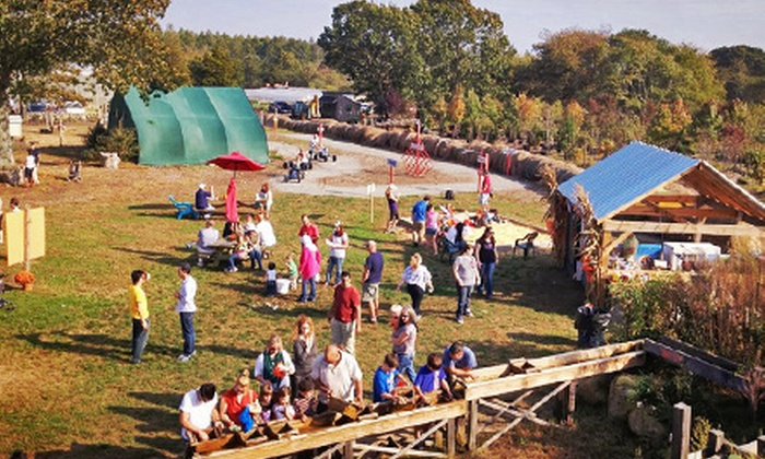 Clark Farms - South Kingstown: Two or Four Day Passes to the Fall Festival at Clark Farms (Half Off)
