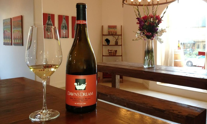 Dawn's Dream Winery - Carmel-by-the-Sea: Wine Tasting for Two or Four with Purchase Credit at Dawn's Dream Winery (31% Off)