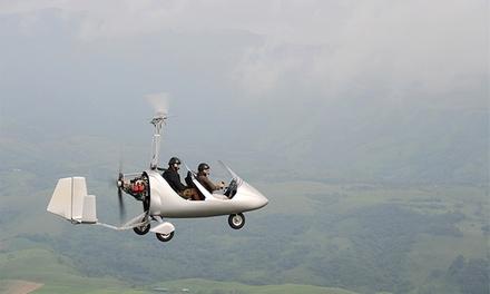 Experiencia de vuelo en autogiro por 49 €