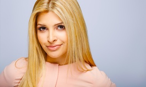 Carmela Tunzi at A.T. Tramp: Haircut and Conditioning with Optional Partial Color or Highlights from Carmela Tunzi at A.T. Tramp (Up to 66% Off)