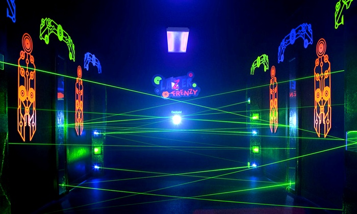 Laserdome - Manheim: One Laser-Tag Session and Arcade Card for Two or Four at Laserdome (Up to 59% Off)