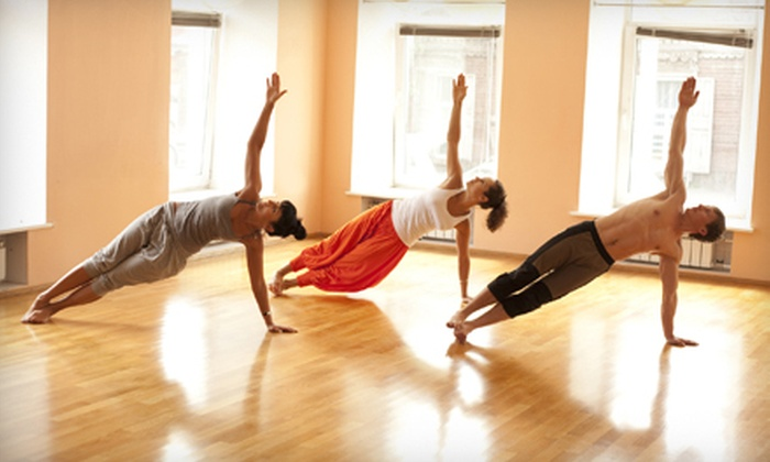 Phountain Health - Multiple Locations: 10 or 20 Hot-Yoga Classes or 10 Gallons of Alkaline Water at Phountain Health (Up to 67% Off)