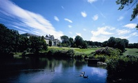 18 Holes of Golf with Bacon Roll and Hot Drink for Two or Four at Shrigley Hall Hotel