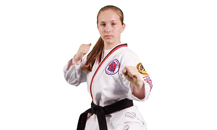 Brices ATA Martial Arts - Multiple Locations: 8 or 12 Martial Arts Classes with Uniform Included at Brices ATA Martial Arts (Up to 91% Off)