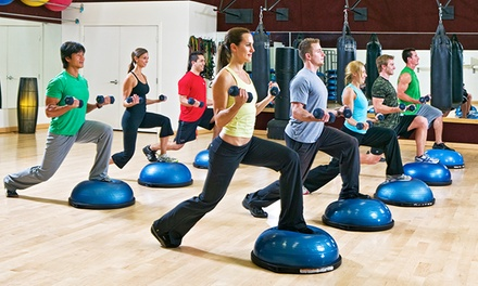 $49 for One Month of Unlimited Fitness Classes at The Sporting Club ($600 Value)