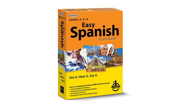 Easy Spanish Platinum Immersive Language-Learning Software: Easy Spanish Platinum Immersive Language-Learning Software