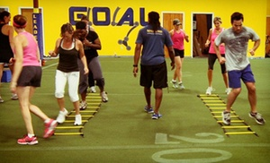 G.O.A.L Performance Training: One Month of Unlimited Adult Performance Fitness Classes for One or Two at G.O.A.L. Performance Training (Up to 77% Off)