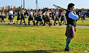 Central Virginia Celtic Festival & Highland Games: Single-Day or Weekend Pass for Two to Central Virginia Celtic Festival & Highland Games (Up to 52% Off)