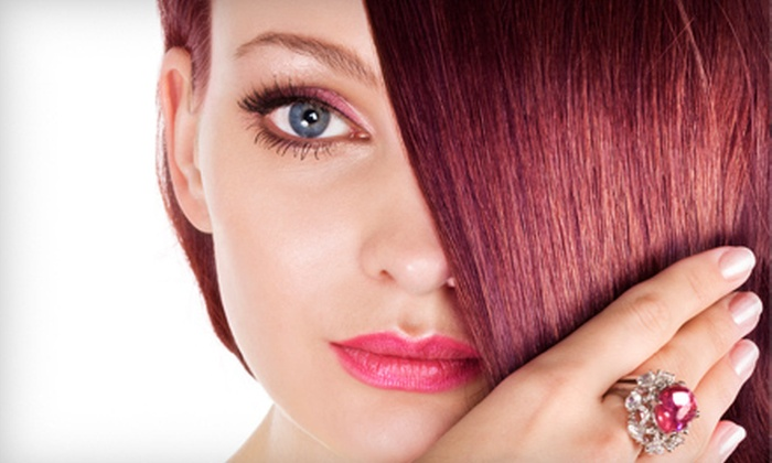 Cosmetology Salon & Spa - Philadelphia : Haircut Package with Option for Color or Partial or Full Highlights at Cosmetology Salon & Spa (Up to 65% Off)