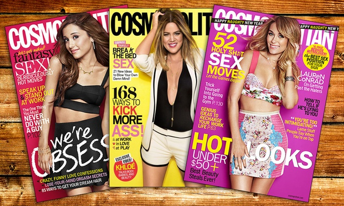 Hearst Magazines: $5 for One-Year Cosmopolitan Subscription form Hearst Magazines ($15 value)