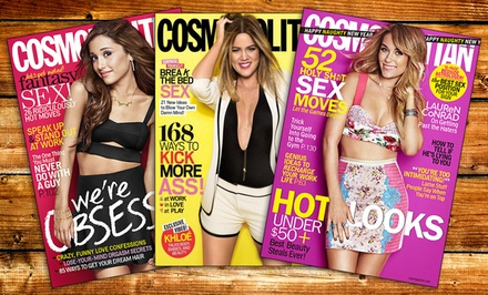 $5 for One-Year Cosmopolitan Subscription form Hearst Magazines ($15 value)