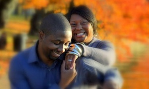 Mirror Image Photography: $74 for 60-Minute Engagement Photo Shoot with Retouched Images from Mirror Image Photography ($295 Value)