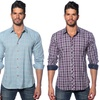 Jared Lang Fitted Button Down Shirt
