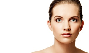 Luna Skin Care and Spa: Two or Four Nonsurgical Face-Lift Microcurrent Treatments at Luna Skin Care and Spa (Up to 77% Off)