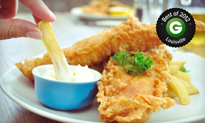 The Fish Fry House - Belknap: Fresh Seafood and Chicken at The Fish Fry House (Up to 53% Off). Two Options Available.