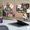 $7.99 for Silk-Screened City-Print Corkboard