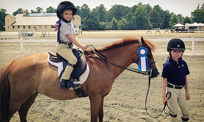 Providence Equestrian Center - Sandy Ridge: One-Hour Group Riding Lesson and Trail Ride for One or Two at Providence Equestrian Center (Up to 62% Off)