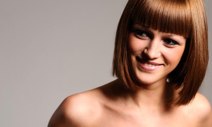 Linda Alfieri Salon - Boca Raton: Shampoo, Haircut, and Blow-Dry with Optional Single-Process Color at Linda Alfieri Salon (Up to 61% Off)