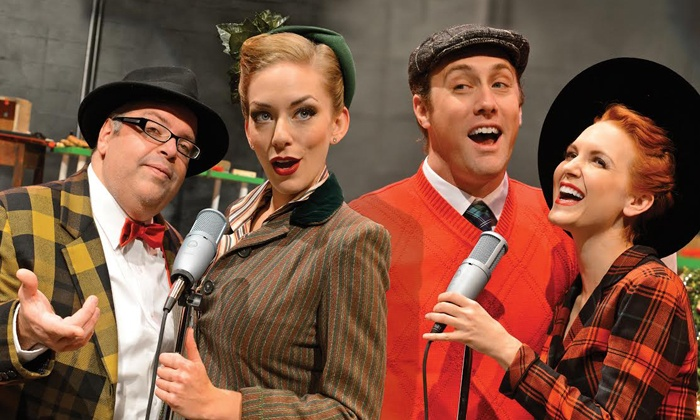 """""""It's A Wonderful Life: A Live Radio Play"""" - Downtown San Jose: """"It's A Wonderful Life: A Live Radio Play"""" at The Stage on November 27–December 22 (Up to 54% Off)"""