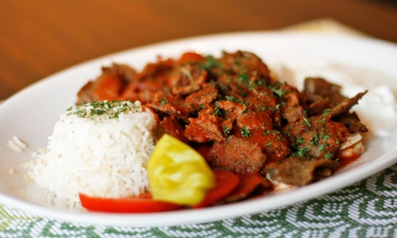 Lunch or Dinner at Istanbul Mediterranean Restaurant (Up to 47% Off)