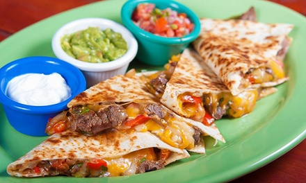 $18 for Three Groupons, Each Good for $12 Worth of Food at Jalapeño Mexican Kitchen ($36 Value)