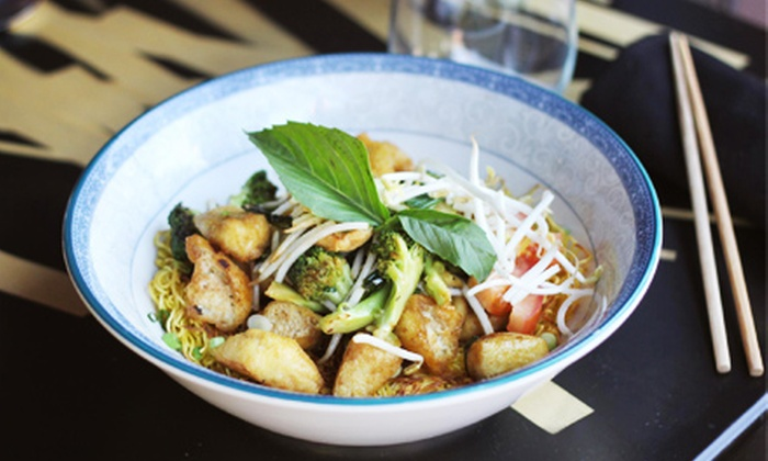 Kaydara - Willert Park: $19.25 for $35 Worth of Asian Noodle Dishes, Entrees, and Beverages for Two or More at Kaydara