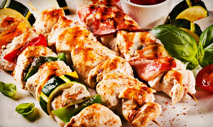 Shish Kabob Express - Herndon: Kebabs and Appetizers for Two or Four at Shish Kabob Express (Up to 53% Off)