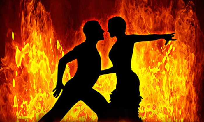 """Caliente - Downtown: Atlanta Ballroom Dance Theater's """"Caliente"""" for One or Two at Westin Peachtree Plaza Hotel on October 13 at 9:30 p.m."""