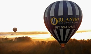 Orlando Balloon Rides: Hot Air Balloon Ride for One or Two from Orlando Balloon Rides (Up to 27% Off). Four Options Available.