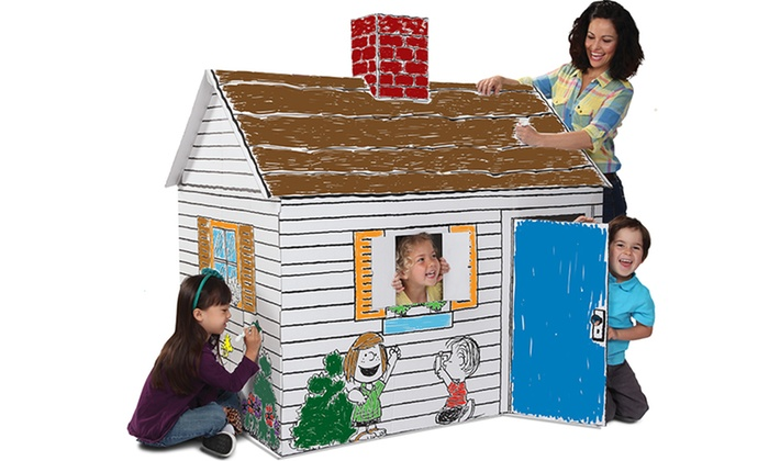 Peanuts Color And Playhouse Groupon Goods