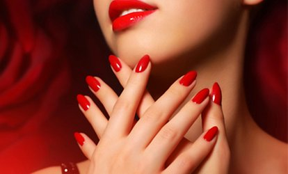 image for Gel Manicure, Pedicure or Both at Hairs & Graces (Up to 53% Off)