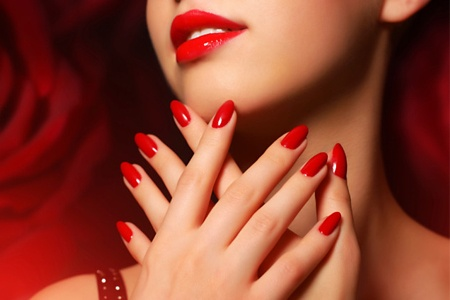 Gel Manicure, Pedicure or Both at Hairs & Graces (Up to 53% Off)