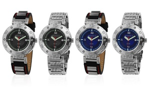 Android Intercross Automatic Watch with 3-Piece Watch Box