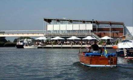 Eten aan de IJssel: vijfgangenmenu van de chef bij Rivers Marnemoende in IJsselstein vanaf 2 personen