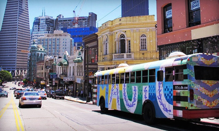 Magic Bus Tour - Union Square: $49 for a Two-Hour 1960s-Themed Tour for Two from Magic Bus Tour (Up to $100 Value)